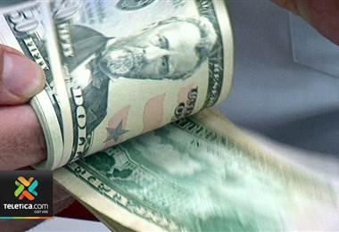 Precio del dólar subió ₡13 en las últimas tres semanas