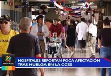 Huelga de este martes afectó más de la mitad de los quirófanos de principales hospitales del país