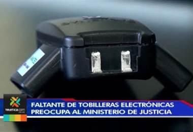 Ministerio de Justicia se queda sin tobilleras electrónicas por segunda vez en el año