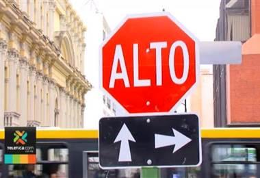 Paneles solares alimentarán los semáforos en cantones centrales de Alajuela, Heredia y Cartago