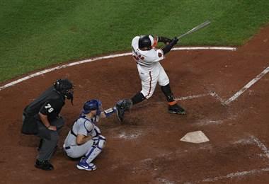 Jonathan Villar, jugador del cuadro de los Orioles de Baltimore | AFP
