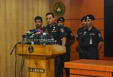 Policía en Bangladés