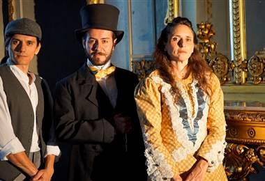 Teatro Nacional, visita dramatizada