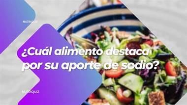 Conozca sobre las propiedades de los alimentos junto al entrenador José