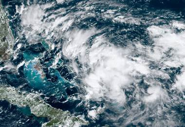 Nueva tormenta golpea Bahamas. AFP