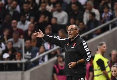 Maurizio Sarri, técnico de la Juventus | AFP