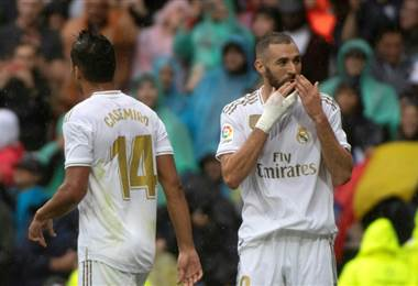 Benzema de Real Madrid. AFP