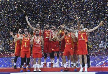 España es campeona del mundo. AFP