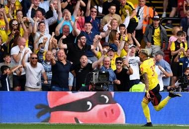 Watford derrotó al Arsenal. AFP