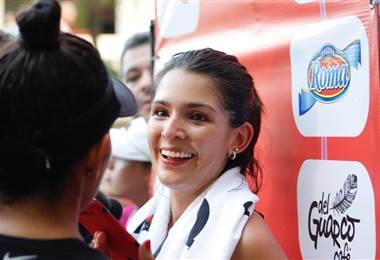 Natalia Suárez triunfó en los 30k de Tamarindo.