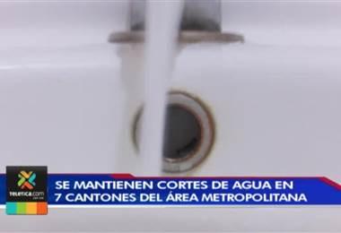 60.000 josefinos sufrirán recortes de agua la próxima semana