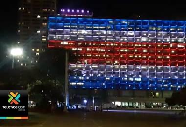 Desde diferentes partes del mundo llegaron mensajes por la independencia de nuestro país