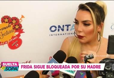 Hija de Alejandra Guzmán se presentó en Estados Unidos para celebrar las fiestas patrias