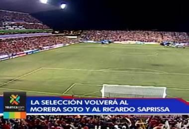 Sele volverá a Ricardo Saprissa y Morera Soto