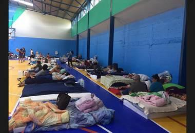 Afectados por incendio en Barrio Cuba urgen de artículos de higiene para evitar brote de diarrea