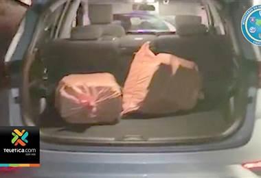 Autoridades lograron ubicar un vehículo que contenía unos 70 kilos de cocaína
