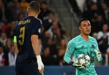 Keylor Navas enfrentó a sus excompañeros del Real Madrid | AFP