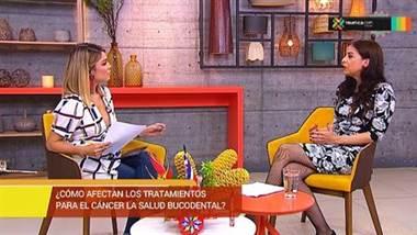 Salud bucodental afectada por tratamiento contra el cáncer