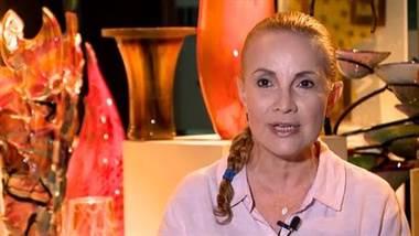 Ruth Moreno: artista costarricense del vidrio