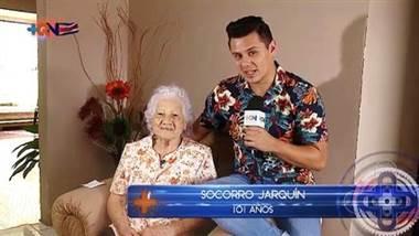 Doña Socorro nos cuenta el secreto para vivir más de 100 años