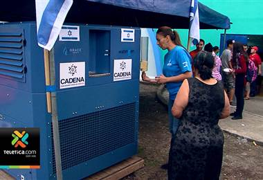 Máquina que convierte el aire en agua fue instalada en el albergue de Barrio Cuba