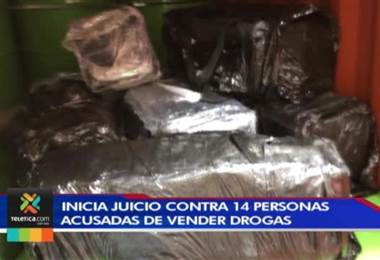 Hoy inicia un juicio contra 14 personas vinculadas con la venta de droga en Turrialba