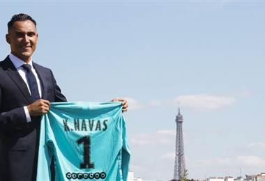 Keylor Navas, nuevo jugador del PSG | PSG Inside