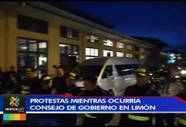 Carlos Alvarado desmintió que haya sido sacado en ambulancia de Limón