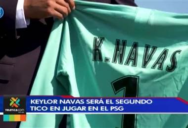 Keylor Navas espera brilla en el PSG como ya lo hizo Shirley Cruz