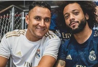 Keylor Navas junto a su amigo Marcelo   Instagram
