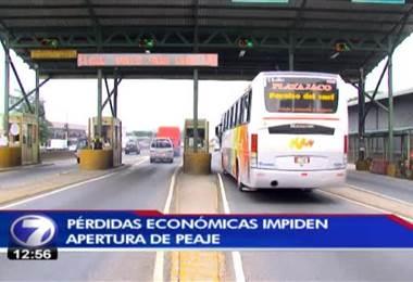 Llueven críticas por próximo aumento en los peajes de Río Segundo y Naranjo