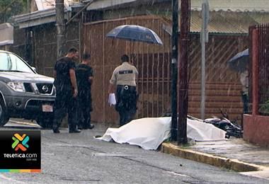 Motociclista falleció tras ser colisionado por un carro en Zapote
