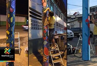 Proyecto pretende llenar de color el cantón central de Limón