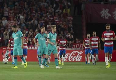 Granada derrotó al Barcelona | AFP