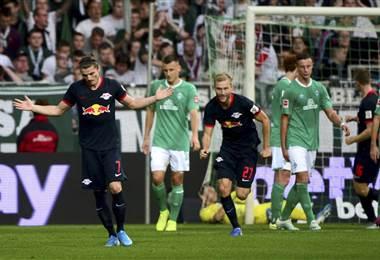 Leipzig lidera la Bundesliga   AFP
