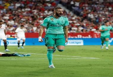 Karim Benzema anotó el gol del trunfo para el Real Madrid | realmadrid.com