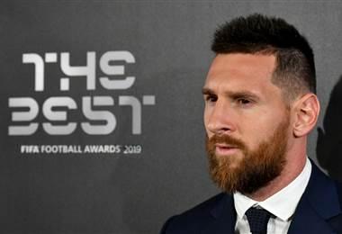 Lionel Messi premio The Best | AFP