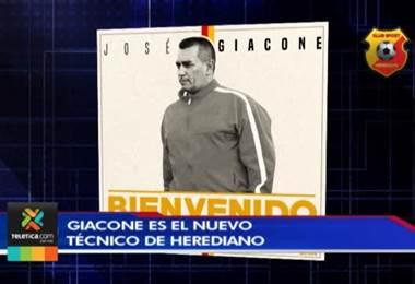 José Giacone deja Pérez Zeledón para ser nuevo técnico del Herediano