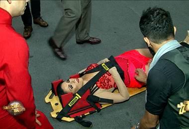 Coco Vargas se desmayó en la quinta gala de DWTS