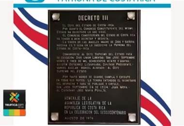Un día como hoy hace 195 años la Virgen de los Ángeles fue declarada patrona de Costa Rica