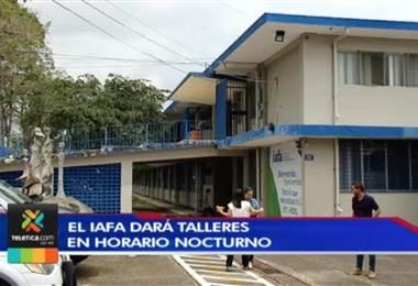 IAFA dará talleres nocturnos a familias de personas con problemas de drogas y alcohol