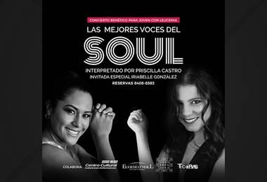 'Las mejores voces del Soul' se unen en concierto benéfico para joven con leucemia