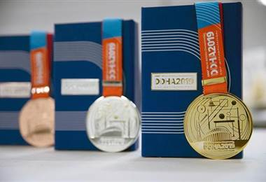 Medallas del Mundial de Atletismo de Doha | Página oficial de la IAAF