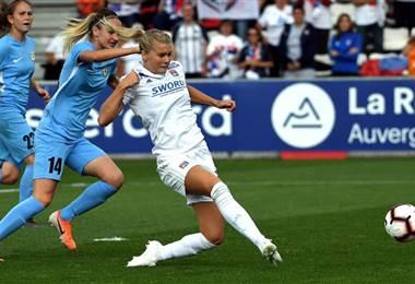 Lyon fútbol femenino