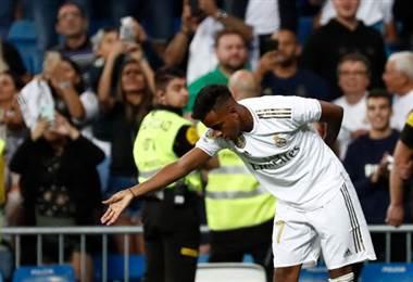 Rodrygo delantero del Real Madrid   AFP