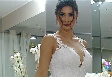 Vestido de novia de Monserrat