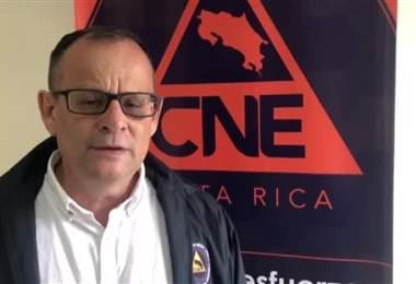 CNE declara alerta amarilla para el Pacífico Central y Norte tras fuertes lluvias