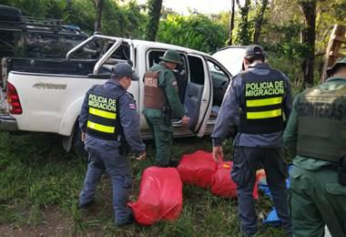 Policía de Migración en Guanacaste