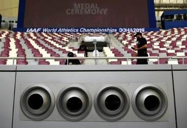 Mundial atletismo Doha