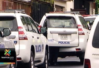 Aparente robo de droga en La Trinidad de Moravia dejó un hombre herido y dos detenidos